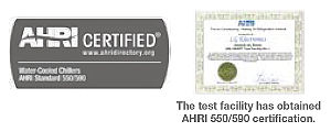 AHRI 550/590 certification