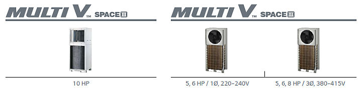 Multi V Outdoor - Space II & III